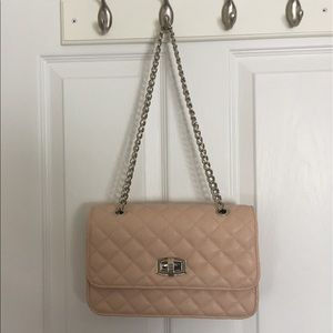 Pink crossbody/ shoulder small purse